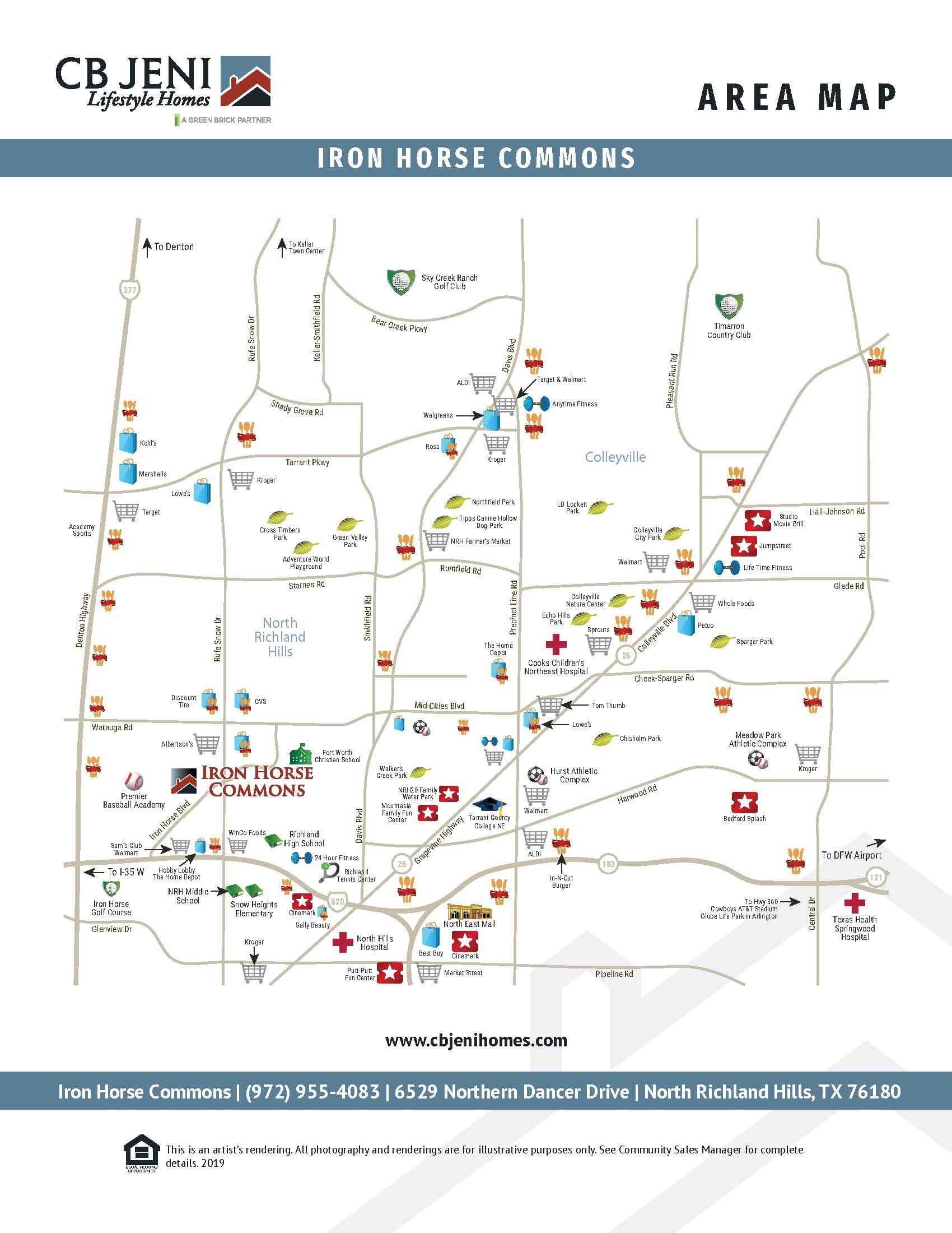 Iron Horse Commons Vicinity Map