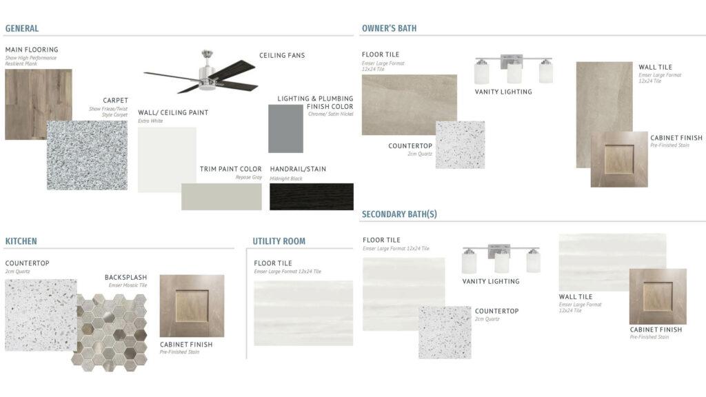 Tonal Contemporary Design Options